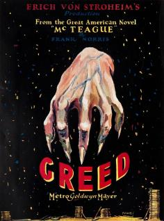 Greed_1924_poster